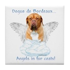 Dogue Angel Tile Coaster