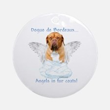 Dogue Angel Ornament (Round)