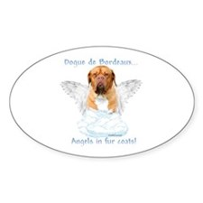 Dogue Angel Oval Decal