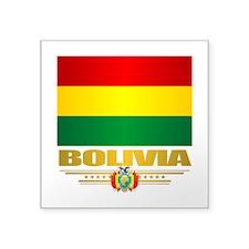Flag of Bolivia Sticker