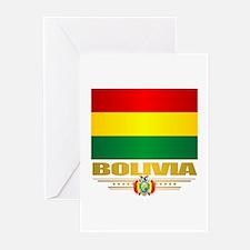 Flag of Bolivia Greeting Cards
