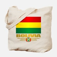 Flag of Bolivia Tote Bag