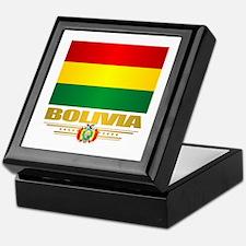 Flag of Bolivia Keepsake Box
