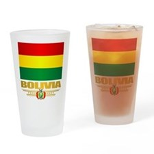 Flag of Bolivia Drinking Glass