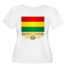 Flag of Bolivia Plus Size T-Shirt