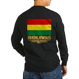 Bolivia Long Sleeve T-shirts (Dark)