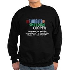 Sheldon Cooper's Personality Quote Sweatshirt