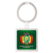 Bolivia COA Keychains