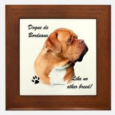 Dogue Breed Framed Tile