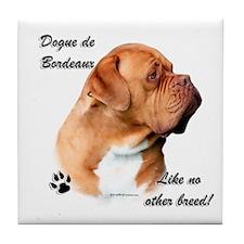 Dogue Breed Tile Coaster