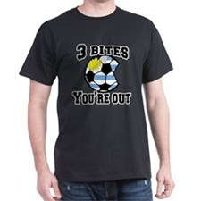 3 Bites You're Out with Uruguay Flag T-Shirt