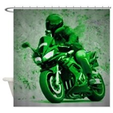 Motorcycle ~ Shower Curtain