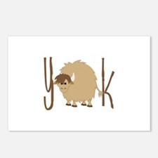 Yak Postcards (Package of 8)