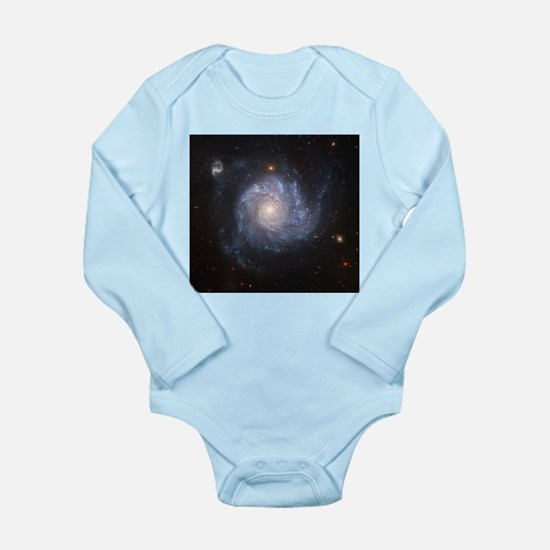 NGC 1309 Spiral Galaxy Infant Bodysuit Body Suit