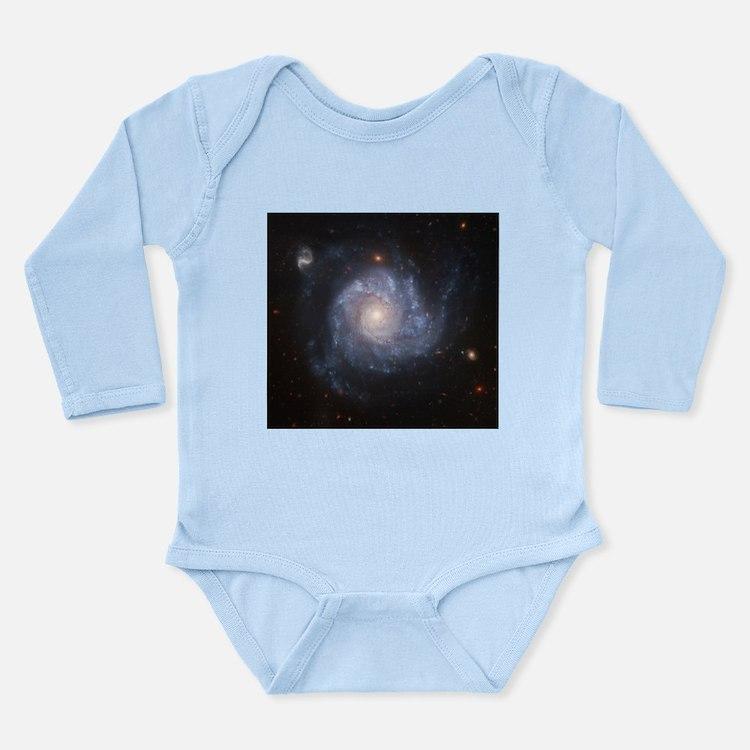 NGC 1309 Spiral Galaxy Infant Bodysuit Body Suit