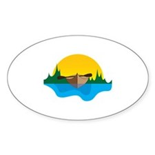 Canoeing Decal