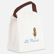 Lil Peanut Canvas Lunch Bag
