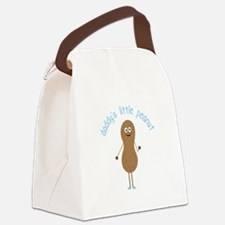 Daddy's Little Peanut Canvas Lunch Bag