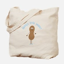 Daddy's Little Peanut Tote Bag