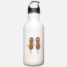 Peanut Siblings Water Bottle