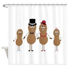 Peauts Family Shower Curtain