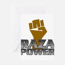 Raza Power Fist Greeting Cards (Pk of 10)