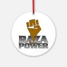 Raza Power Fist Ornament (Round)