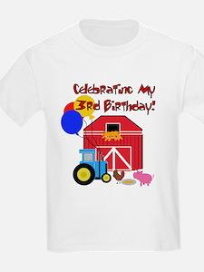Farm 3rd Birthday T-Shirt