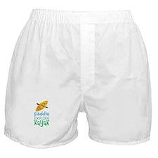 Paddle Explore Kayak Boxer Shorts