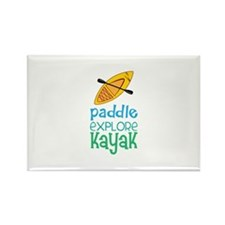 Paddle Explore Kayak Magnets