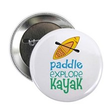 "Paddle Explore Kayak 2.25"" Button"