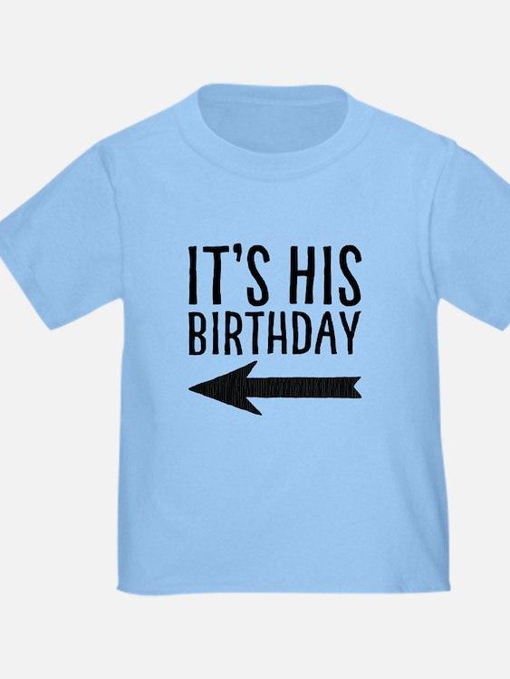 It's His Birthday (left Arrow) T