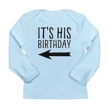 Left Arrow Infant Long Sleeve T-Shirt