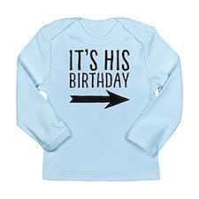 Right Arrow Infant Long Sleeve T-Shirt