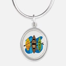Kayaks Necklaces