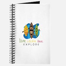 Live Laugh Love Explore Journal