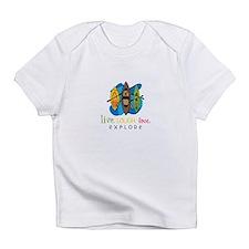 Live Laugh Love Explore Infant T-Shirt