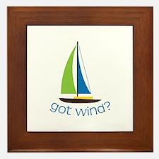 Got Wind? Framed Tile