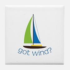 Got Wind? Tile Coaster