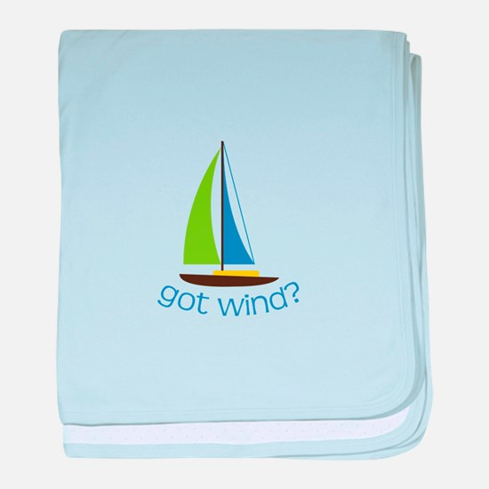 Got Wind? baby blanket