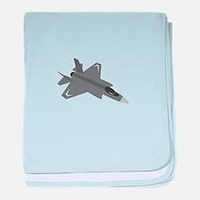 F-35 Lightning II baby blanket