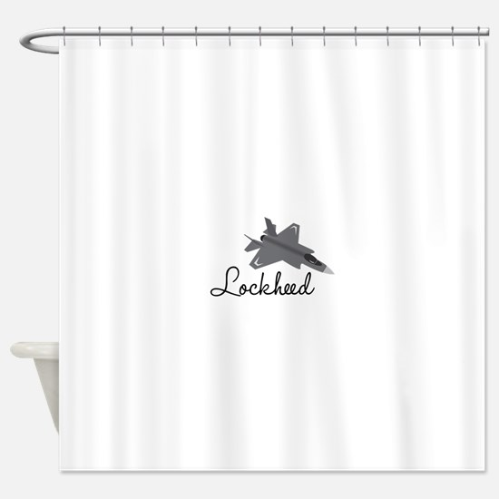 Lockheed Shower Curtain