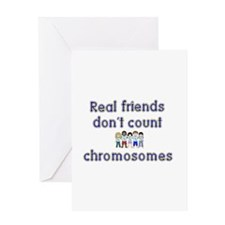 Unique Down syndrome Greeting Card