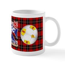 Scottish Red Tartan Army Boys Mugs