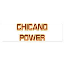 Chicano Power Trekker Bumper Bumper Sticker
