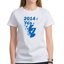 2014 Yes Map Blue T-Shirt