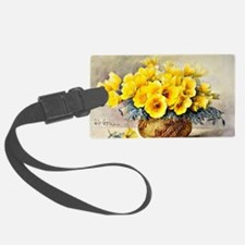 Poppies in an Indian Basket Luggage Tag