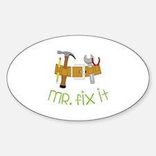 Mr Fix It Decal