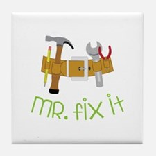 Mr Fix It Tile Coaster