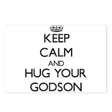 Keep Calm and Hug your Godson Postcards (Package o